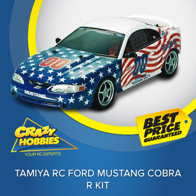 Tamiya RC Ford Mustang Cobra R Kit