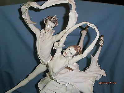 Giuseppe Armani Florence Grand Jette Ballet Lg Sculpture Italian Figurine Italy