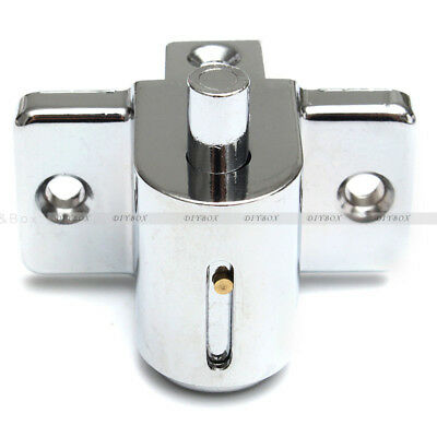Aluminum Sliding Patio Door Window Bolt Locking Catch Push Lock Security Child