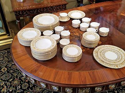 Antique Royal Worcester Fine China Complete Set for 12