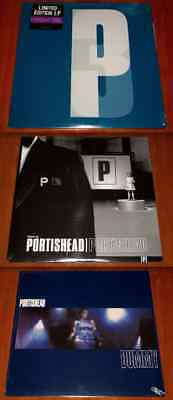 PORTISHEAD 3x LP VINYL Lot DUMMY / PORTISHEAD / THIRD *EU* 180g PRESSINGS New