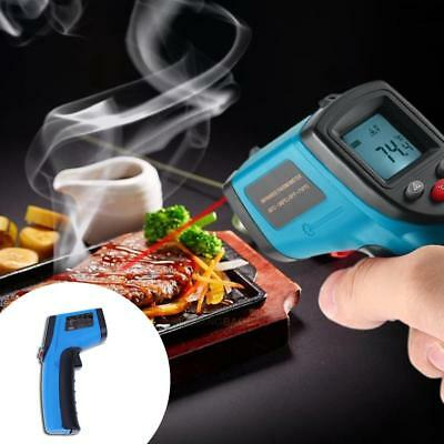 LCD IR Laser Infrared Digital Thermometer Temperature Sensor Non-Contact Gun Kit