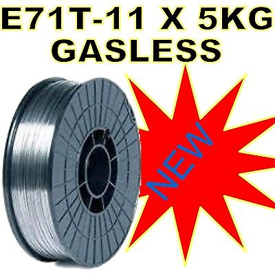 5kg 0.8mm  ****E71T-11**** GASLESS MIG WELDING WIRE FLUX CORED MILD STEEL