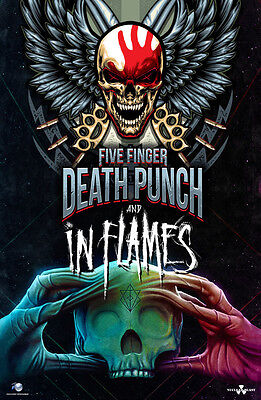 Five Finger Death Punch & In Flames - Innenraum - 29.11.17 - München - Arena