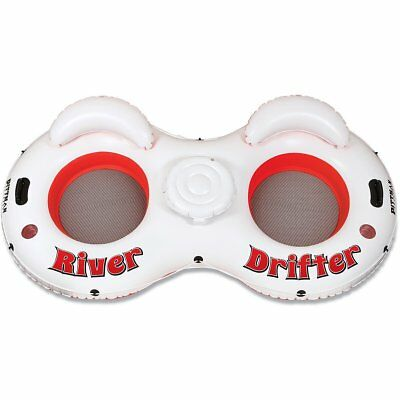 Pittman Outdoors 2-Person River Drifter Tube , New , Free Shipping