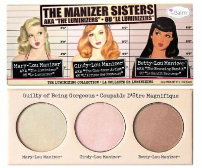 AKTION - B-Ware-TheBalm The Balm - Manizer Sister Palette Highlight Puder Powder
