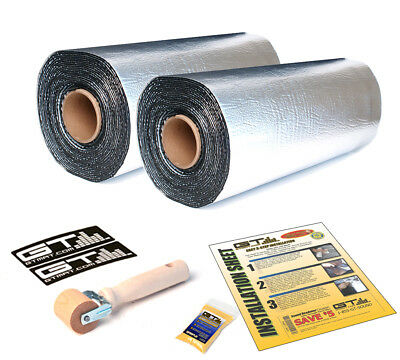 20SQFT 80mil GTMAT Car Sound Deadener Material 2 Rolls w/ Dynamat Xtreme Sample