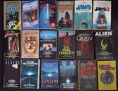 Movie Tie In Star Wars Empire Strikes Back Abyss Alien Jaws Paperback Book Lot