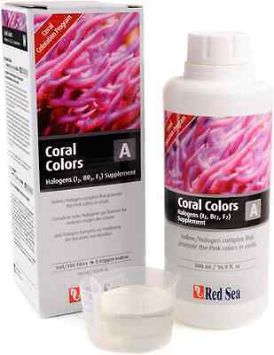 Red Sea Coral Colors A Jod/Halogene 500 ml