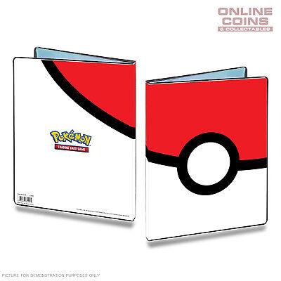 ULTRA PRO Pokemon 9 Pocket Portfolio Pokeball A4 Holds up to 180 Cards