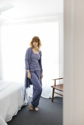 NEW drawstring pant in evening sky Maternity