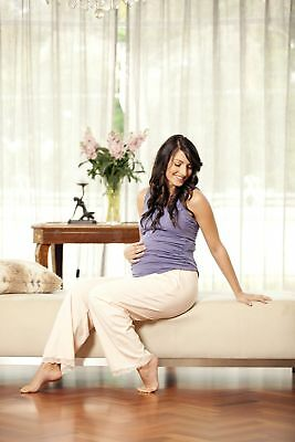 NEW drawstring pant in pink blush Maternity