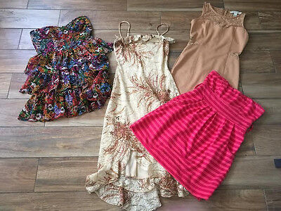 Lot Of 4 Juniors Dresses/rompers Juniors Size S
