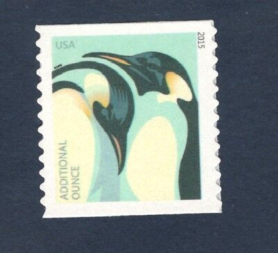 4990 Penguins .15 cents US Coil Single Mint/nh (Free shipping offer)