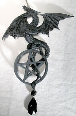 Game of Thrones Room Gothic Wicca Decor Dragon Pentagram Dream Catcher Windchime