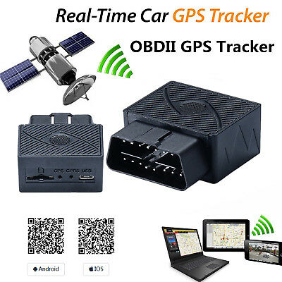 Anti-theft Vehicle Car OBDⅡ OBD2 Real-time GPS Tracker GSM GPRS for Andriod iOS