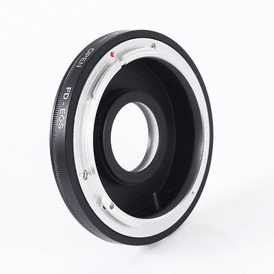 Canon FD Lens to EOS EF EF-S Adapter Ring Focus Infinity Glass For 5D 7D 6D DSLR