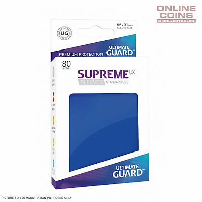 Ultimate Guard SUPREME UX High Quality Card Sleeves - BLUE - Pokemon MTG