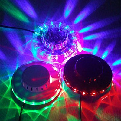 Mini Club Disco KTV Party Bar RGB LED Ball Laser Projector Stage Light EU Plug