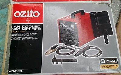 OZITO 140Amp Fan Cooled Arc Welder (LOCAL PICK-UP ONLY) (STORED SINCE 2005)