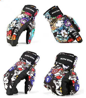 2017 NEW! Winter Sports Ski Gloves Snowboard Waterproof Warm Couples Gloves