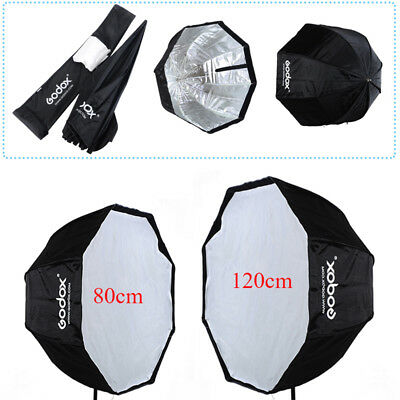 Godox 80cm/120cm Octagon Flash Softbox Reflector Umbrella For Studio Flash Light