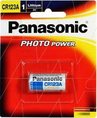 Panasonic CR123A LITHIUM CAMERA for ARLO Camera and More