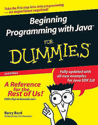 Beginning Programming with Java For Dummies (For Dummies-ExLibrary