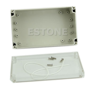 Waterproof Clear 85x58x33mm Cover Plastic Electronic Project Box Enclosure CASE