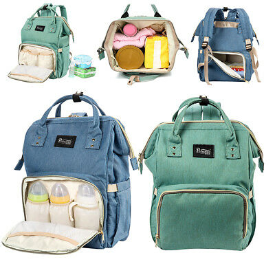 Baby Diaper Nappy Backpack Changing Bags Luxury Multifunctional Waterproof Large
