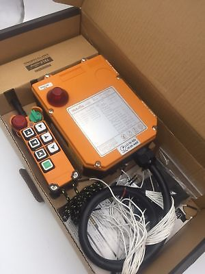 6 Channels 2 speed control Hoist Crane Wireless remote Control 65V-440V (1T+1R)
