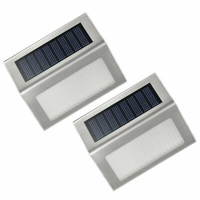 AU LED Weatherproof Solar Power Sensor Security Motion Outdoor Garden Wall Lamp