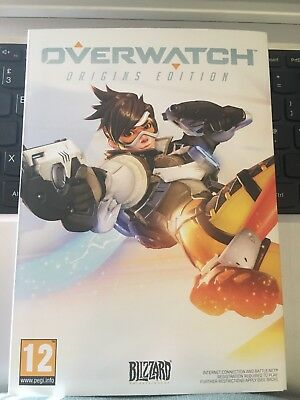 Overwatch - Origins Edition - PC version - Brand New Boxed And Disc Not Download