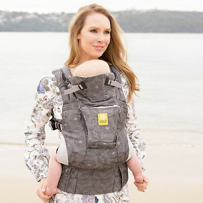 LilleBaby COMPLETE Woven 6 in 1 BABY CARRIER- Sand Dollar - free shipping