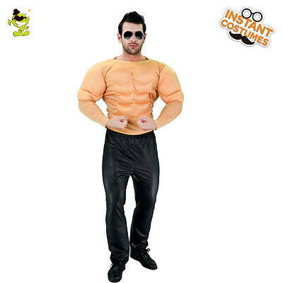Muscle Man Costumes Adult Carnival Party Strong Muscel Men Role Paly Fancy Cloth  sc 1 st  PicClick & RING MASTER CIRCUS Carnival Lion Tamer MC Fancy Dress Up Halloween ...