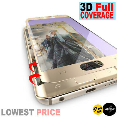 3D Full Coverage Tempered Glass Screen Protector Film For Samsung Galaxy S7 Edge