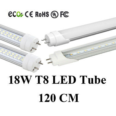 4-1000Pack G13 LED 18w 4ft 1.2M 48Inch T8 Fluorescent Tube Light Warm/Pure White