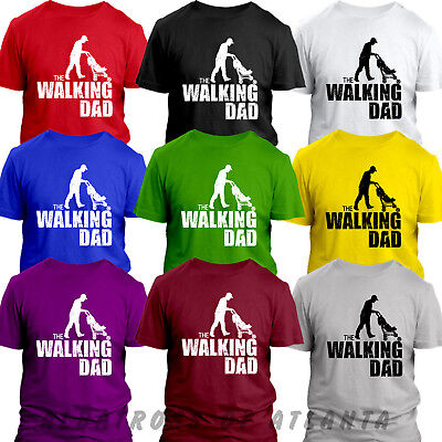 The Walking Dad  FATHER DAY GIFT FUNNY CHRISTMAS PRESENT ALL SIZES S-5XL T-Shirt