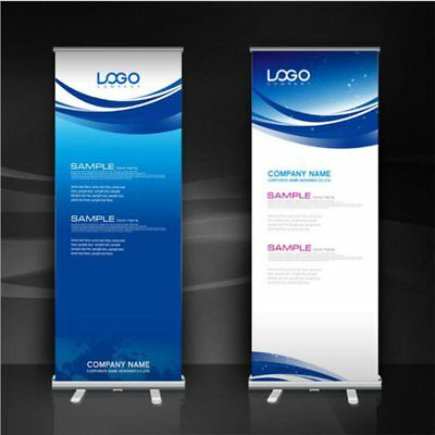 800x2000mm  Roller Banner Pop Up/ Roll Up /Pull up Exhibition Display Stand UK