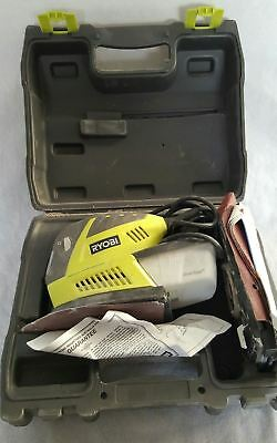 Ryobi (Ems180Rg) Multi Pad Electric Sander / Variable Speed With Carry Case