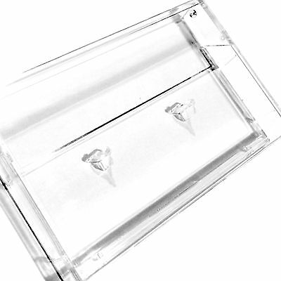 40x CLEAR NORELCO CASSETTE CASES