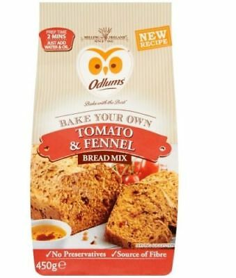 Odlums Tomato & Fennel Bread Mix - 450g