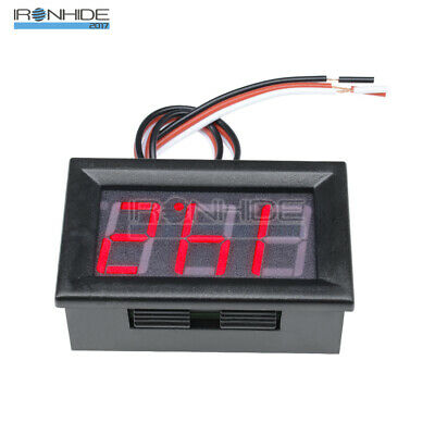 """0.56"""" DC4.50-30.0V LED Digital Voltmeter Panel Accurate Meter 3 Wire Red New"""
