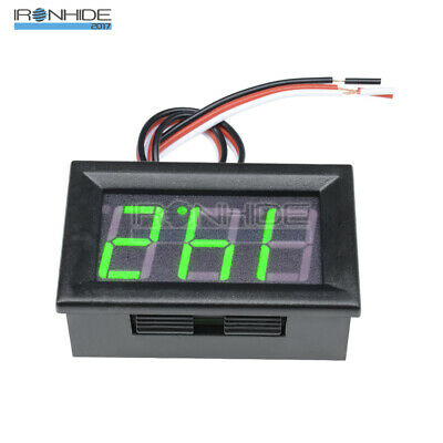 """0.56"""" DC4.70-30.0V LED Digital Voltmeter Panel Accurate Meter 3 Wire Green New"""