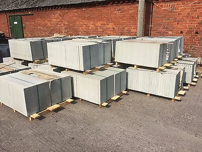 50   Stippled  Paving Slabs Silver Grey 450X450X40Mm (P20458).delivery Included
