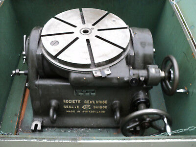 """NICE SIP 18"""" HIGH PRECISION TILTING ROTARY TABLE P1-5,Great on Radial drill too!"""