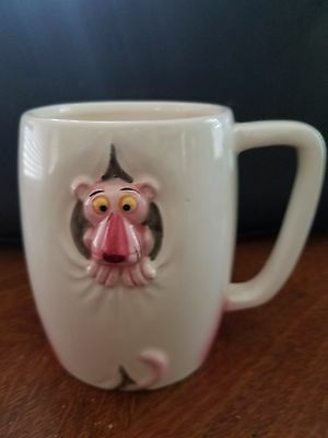 b) Pink Panther Collection by Royal Orleans Vintage 1981 Coffee Mug