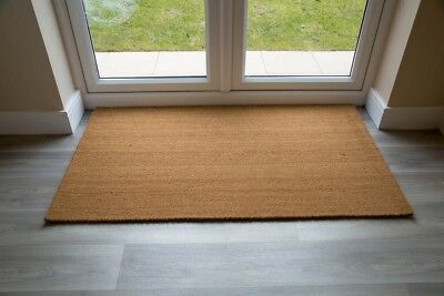 BEST Natural Entrance Coir Mat Multiple Sizes UK Floor Mat