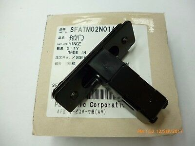 Technics SL 1200 1210 Hinge For Lid, Genuine New  With Screws SFATM02N01A1