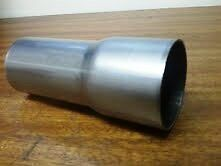 Exhaust Weld On Reducer Connector Pipe Custom Made To Size Stainless Steel T304